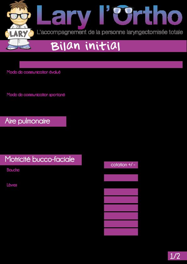 Bilan-Initial
