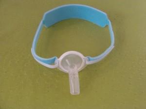 Collier de canule vue antérieure