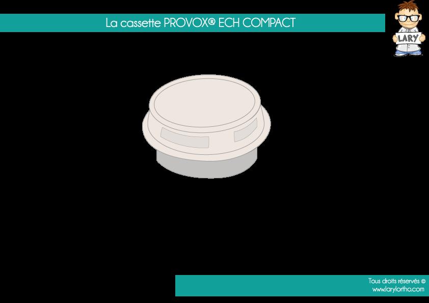 La cassette PROVOX ECH compact