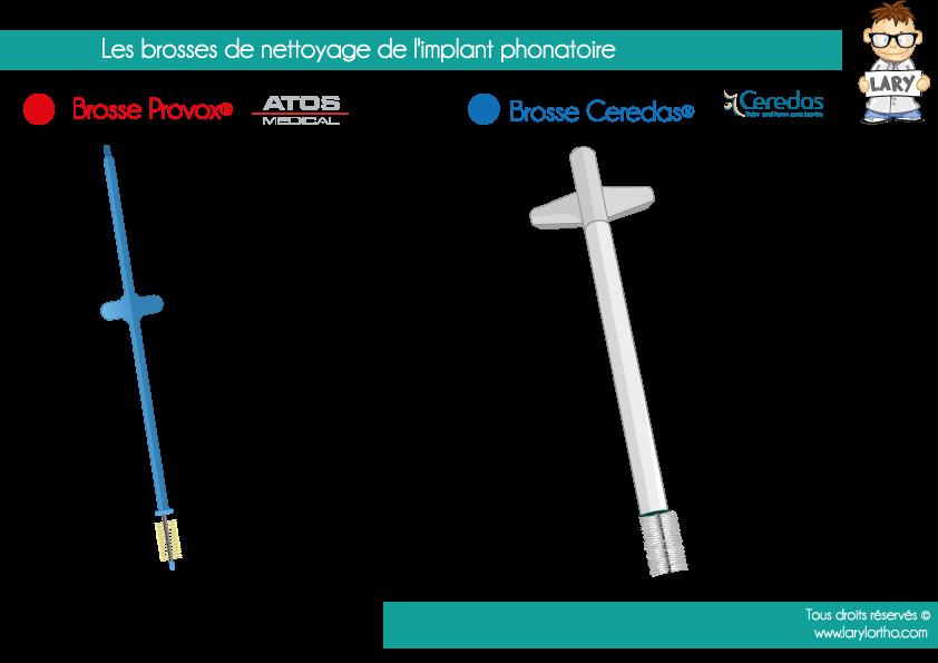 Les-brosses-de-nettoyage-de-l'implant-phonatoire