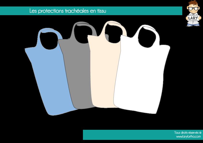 Les protections trachéales en tissu