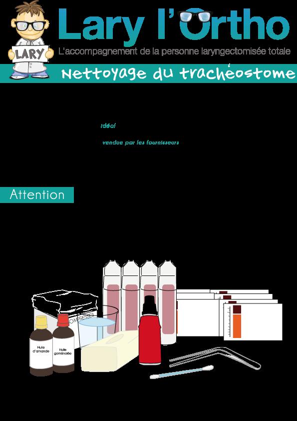 Nettoyage-tracheostome