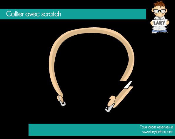 Les colliers avec scratch